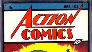 A comic book like this one sold for $3.2 million