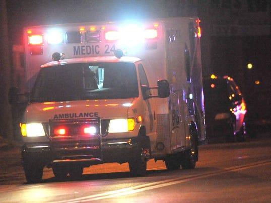 police ambulance file photo