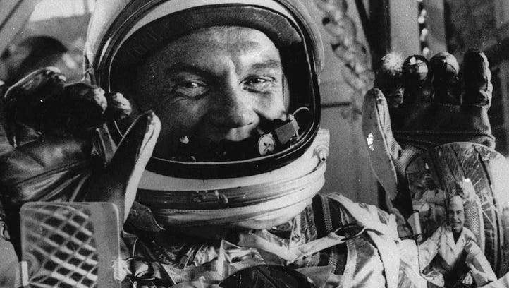 John Glenn, American space-race hero, dead at age 95