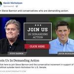 Wisconsin Senate race: Kevin Nicholson doubles down on Steve Bannon endorsement