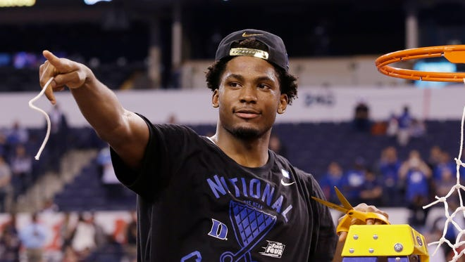 Duke's Justise Winslow could be the top player at his position for the NBA draft.
