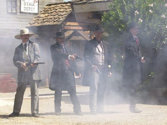 Gunfighters in Tombstone Arizona