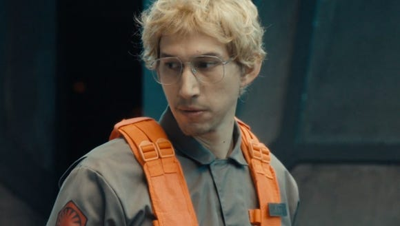 Kylo Ren (Adam Driver) goes undercover as radar technician