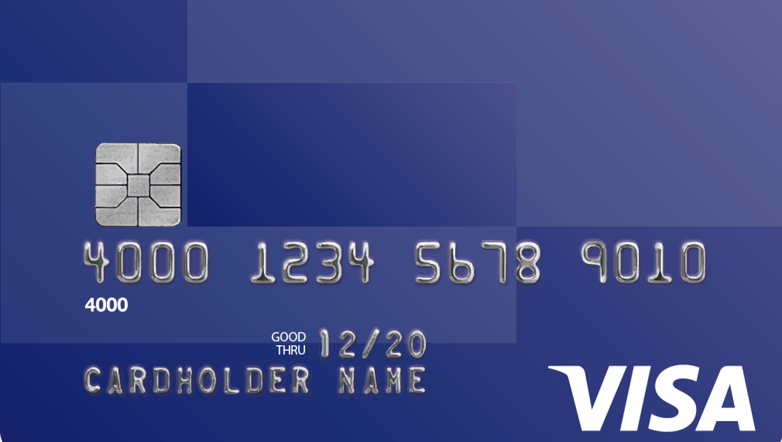 how to clean chip on credit card