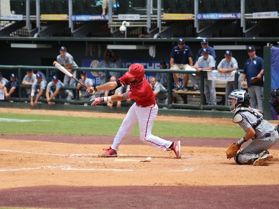 UL catcher Nick Thurman was named Most Outstanding