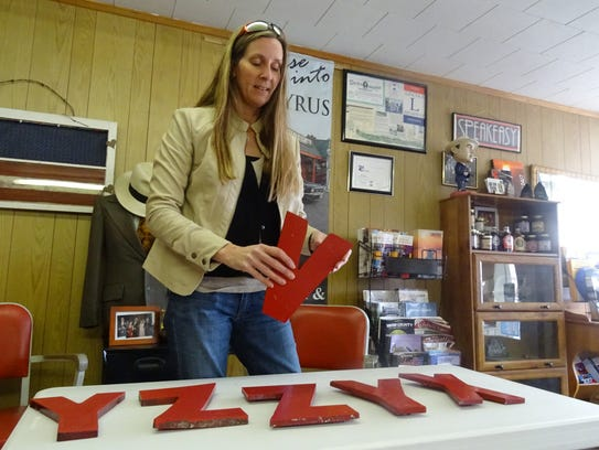 Trish Ratliff, director of the Bucyrus Tourism and