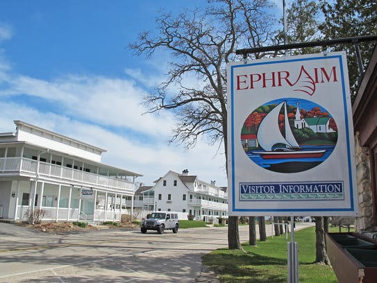 Ephraim is a picturesque village on the Door County