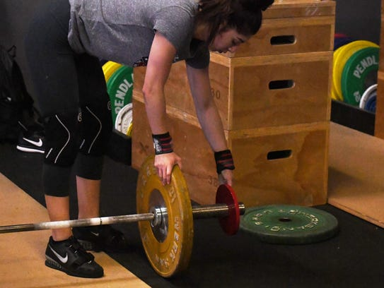 Alexia Gama's in the 48 kilogram (105 pounds) weight