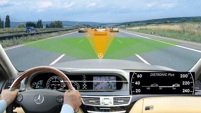 Mercedes-Benz had collision avoidance systems back in 2007