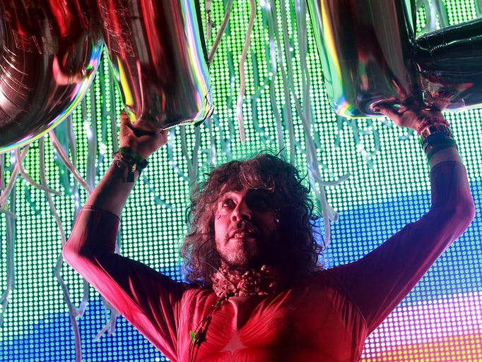 Flaming Lips at the Bonnaroo Music  & Arts Festival on Sunday, June 15, in Manchester, Tenn.