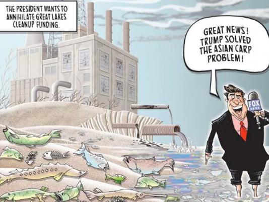 USA Today Network editorial cartoons