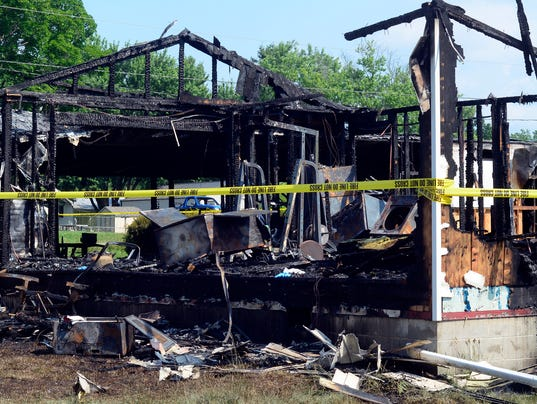 PHOTOS: Dover Township fire destroys home