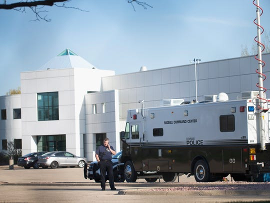 Police continue to stand guard at Paisley Park, the