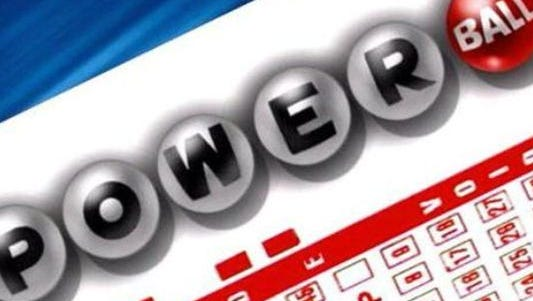 Powerball ticket graphic