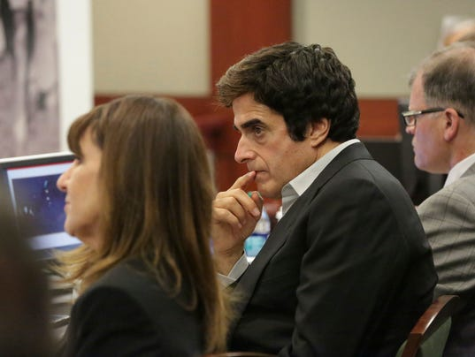 AP DAVID COPPERFIELD ACCIDENT LAWSUIT A ENT USA NV