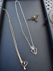 Tibbetts' necklaces were showcased on the two episodes