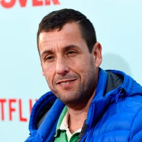 Adam Sandler honors 'funniest guy of all time' Chris Farley while filming Netflix special