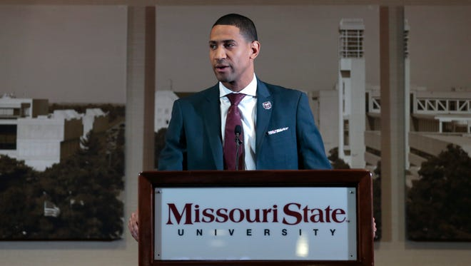 Missouri State introduced Dana Ford as the new men's head basketball coach during a press conference at JQH Arena on Thursday, March 22, 2018.