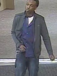 This is one of two people suspected of stealing energy drinks from a Franklin Kroger.