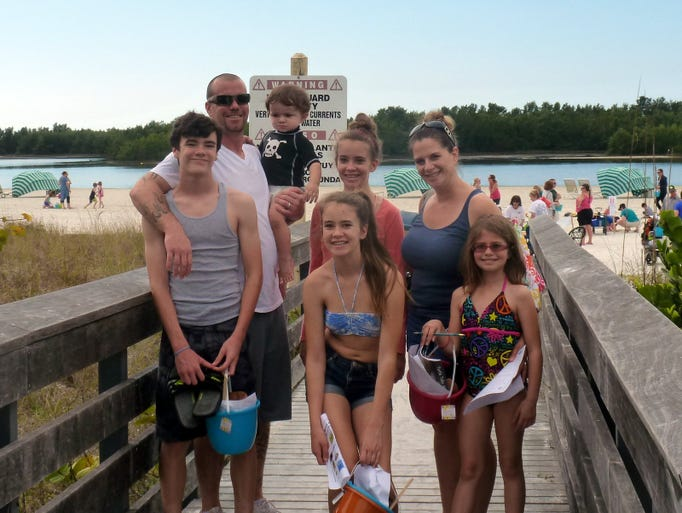 The Snoford family from Marco Island.