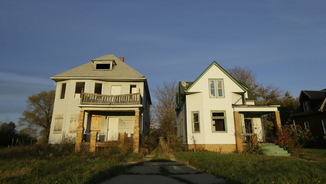 Demolitions an ugly reality for cities losing people for Usa home builders