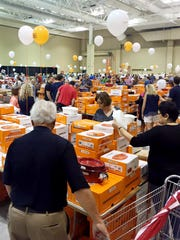 The sale at the Music City Center this week is the