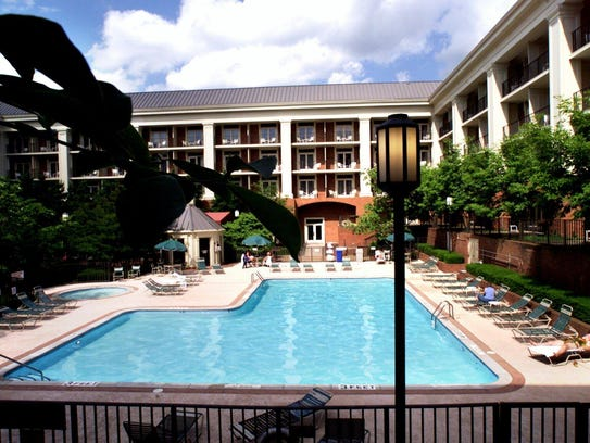 The Sheraton Music City hotel.