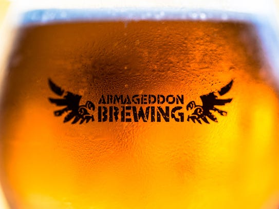 Armageddon Brewing head brewer Christian Annese wants