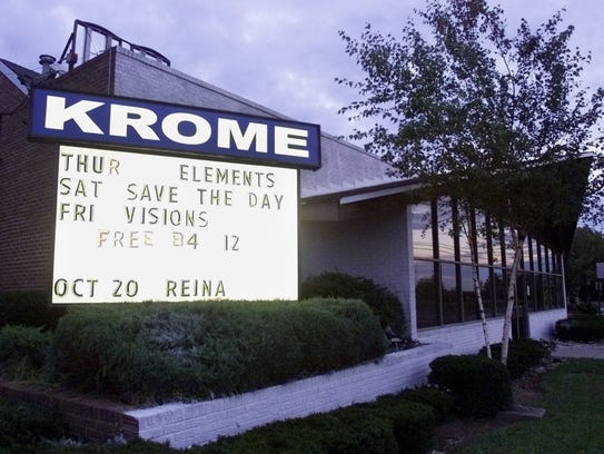 Club Bene when it was known as Krome in the late '90s.