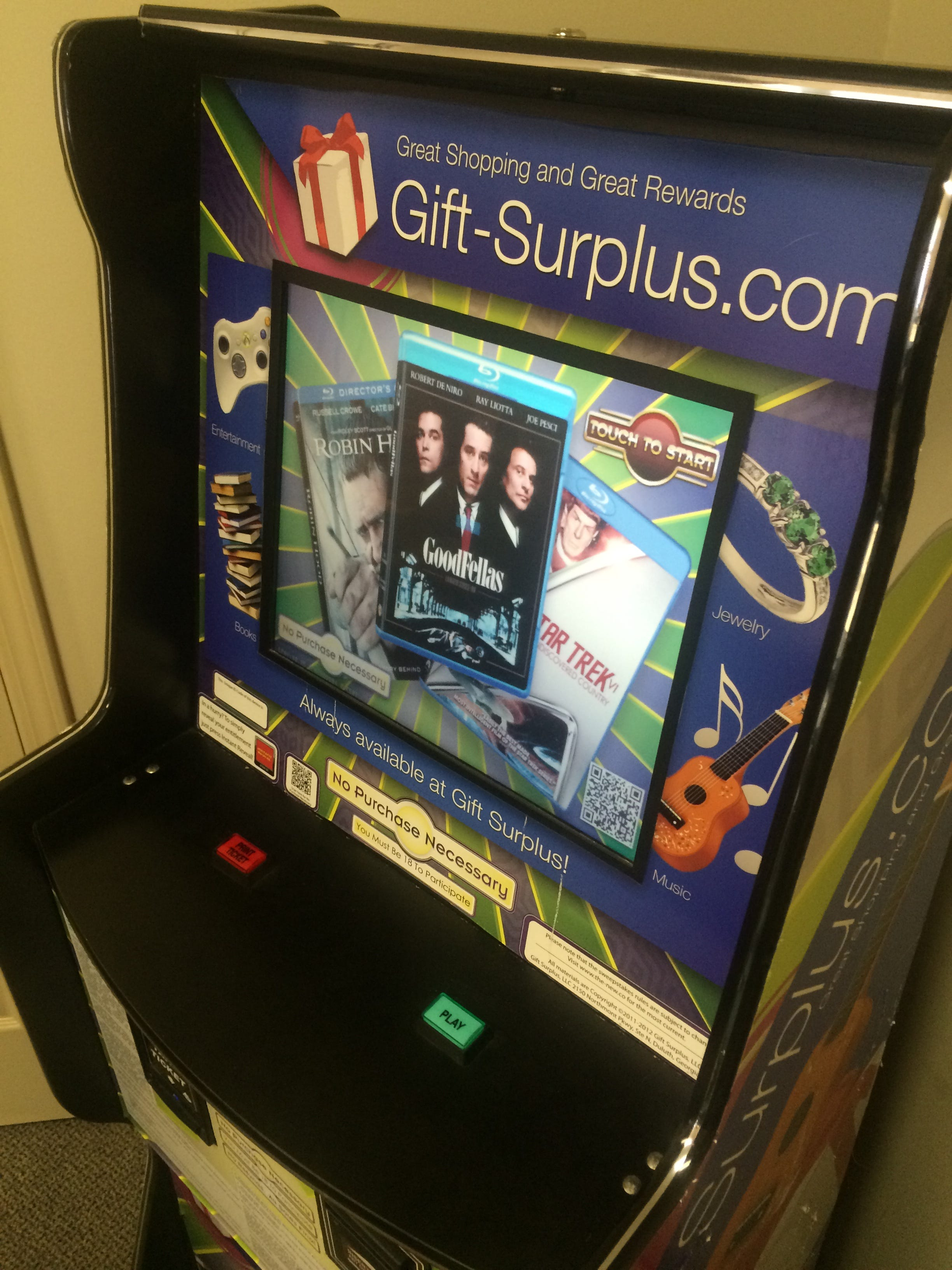 Sweepstakes machines in nc