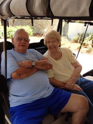 Fonza and Eva (Blackburn) Sells were married nearly 62 years.