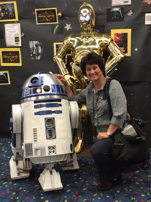 2nd Annual Star Wars Costume Party at Palm Springs Public Library, Wednesday, Jan. 28, 2015.