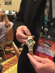 Derrel Simms said this watch was worn during an extraterrestrial