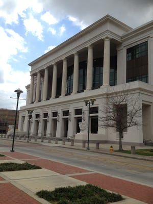 U.S. courthouse in Lafayette.