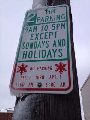 Two Rivers parking ban to be lifted.