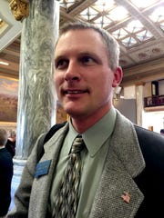Rep. Carl Glimm, R-Kila, sponsored a bill for a constitutional