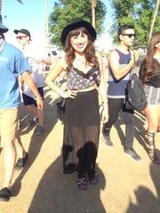 Coachella festival fashion.