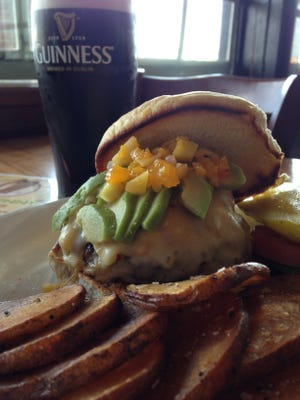 The summertime burger is part of Irish Penny's new summer dishes. With a half pound of Angus beef topped with avocado, fresh salsa and pepper jack cheese it is a great way to beat the heat this summer.