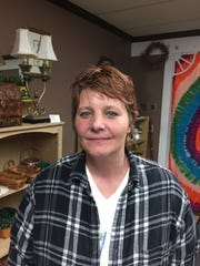 Tina Wilson, 47, owner of DooDadz, 1432 Main St., Speedway,