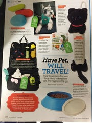 The Poochie Bowl, bottom right corner, is featured in the June issue of Women's Day magazine.
