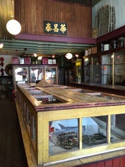 The Mai Wah had a general store on the first floor,