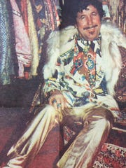Sam Bartus showed off his closet and his colorful wardrobe