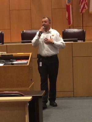 Cape Coral Fire Chief Don Cochran