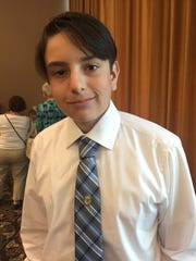 Jake Rothstein of Woodbridge was recognized for academic excellence by Johns Hopkins University talent search.