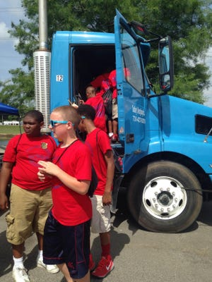 The Jackson Recreation and Parks Department's annual Touch a Truck event encourages children to learn about city vehicles, play games and get active.