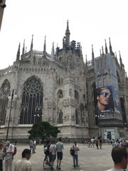 The Duomo di Milano in Milan, Italy, is also known
