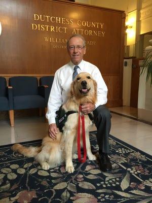 Dutchess County District Attorney William V. Grady and Bosch.