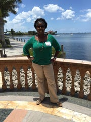 Kindra Pinnace, a teacher leader at Fort Myers Middle