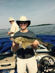 Another healthy Lake Superior walleye caught while