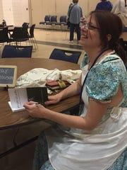 """Kelly Kathleen Ferguson autographs her book """"My Life"""